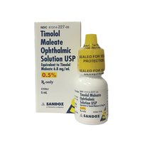 Timolol Maleate Ophthalmic Solution Eye Drops