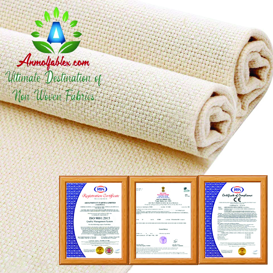 Colorful Factories Polyester Felt Roll Needle Punched Non Woven Felt Polyester Felt Fabric