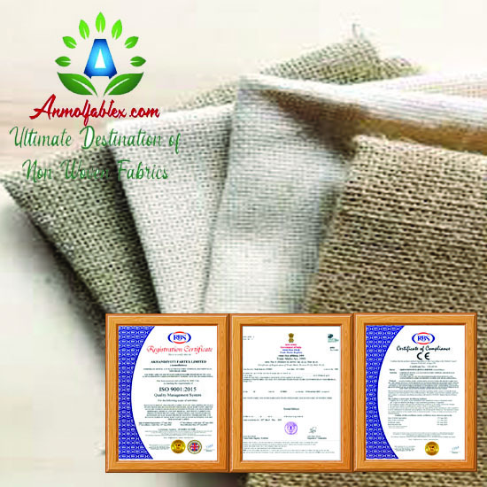100% Needle Punched Non Woven Industrial Fabric Felt