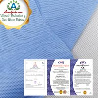 SMS NON WOVEN FABRIC IN SOFT AND STRENGTH MULTIPLE TREATMENTS FOR HYDROPHOBICITY