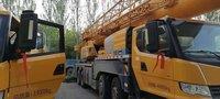 truck crane second hand crane xcmg XCT55L6 55ton used crane telescopic crane