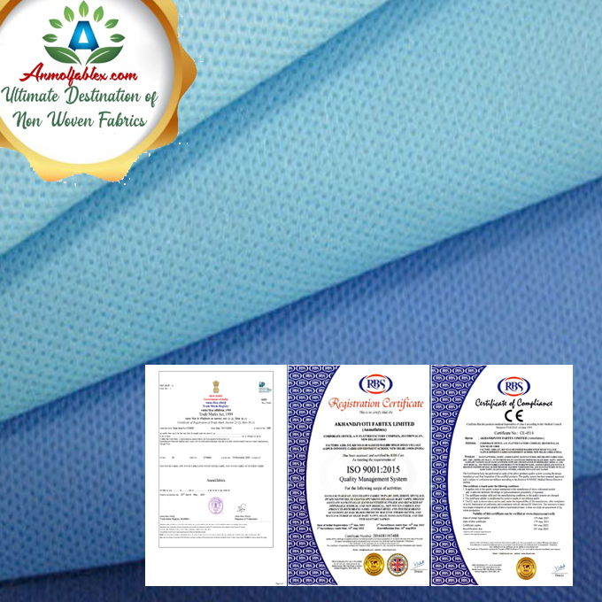 SMS NON WOVEN, EXTRA-SOFTNESS, ANTI-STATIC, UV PROTECTION ETC.