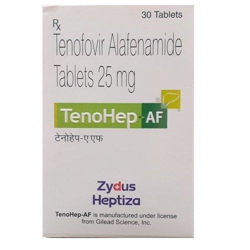TENOHEP AF 25 MG TABLETS