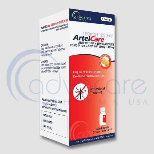 Artemether & Lumefantrine Powder for Oral Suspension