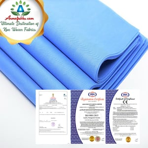 SMS NON WOVEN MEDICAL a   GOWNS, COVERALLS, MASK AND OTHER HOSPITAL DISPOSABLES, SMS NONWOVEN FABRIC FOR BABY DIAPER.
