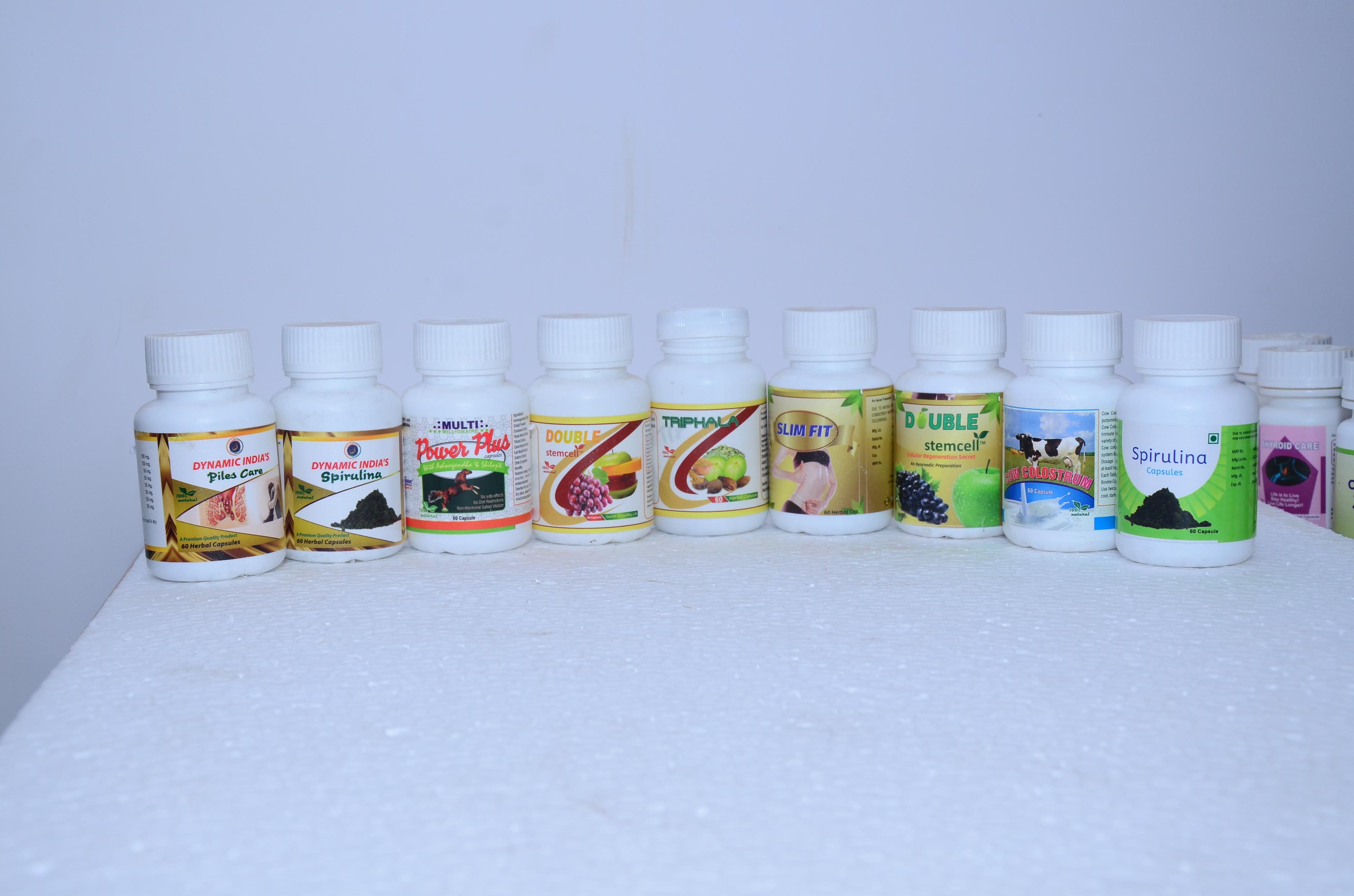 All Type Herbal Capsule