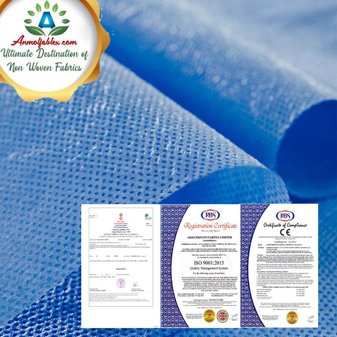 HIGH STRENGTH, GOOD FILTERING PERFORMANCE SMS NON WOVEN FABRIC