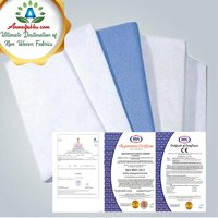 PLAIN BLUE MEDICAL SAFETY EQUIPMENT NON WOVEN FABRIC, GSM: 50-100