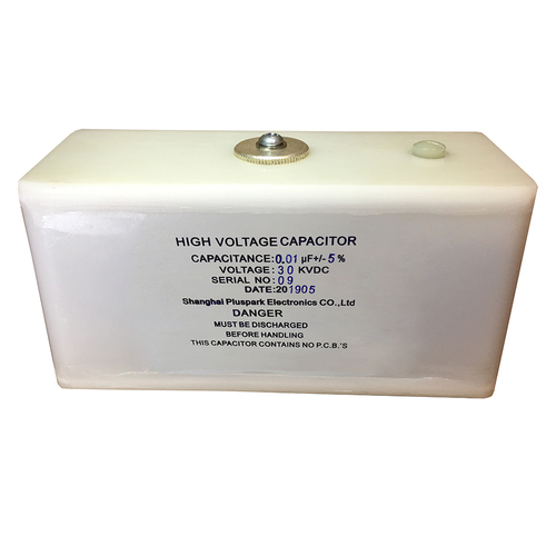 HV Pulse discharge and dc capacitor 30kV 0.01uF(10nF)