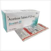 Acarbose Tablets IP 25mg