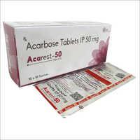 Acarbose Tablets IP 50mg