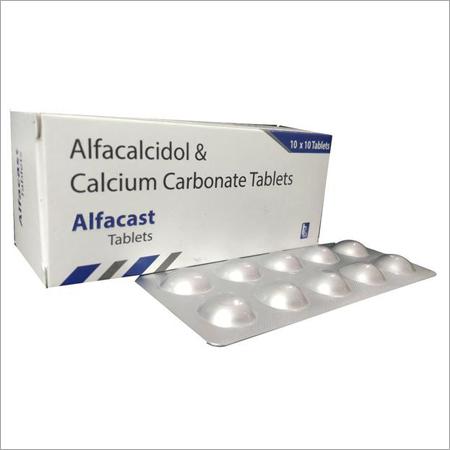 Alfacalcidol & Calcium Carbonate Tablets
