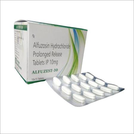 Alfuzosin Hydrochloride Prolonged Release Tablets IP 10mg