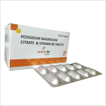 Potassium Magnesium & Vitamin B6 Tablets