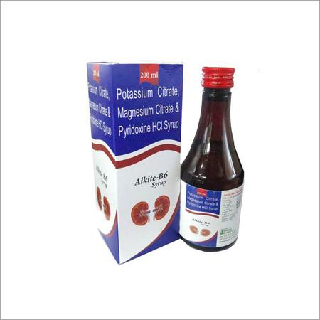 Potassium Citrate Magnesium Citrate & Pyridoxine HCI Syrup