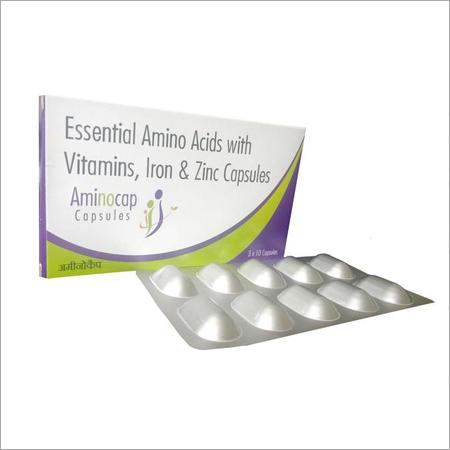 Essential Amino Acids with Vitamins Iron & Zinc Capsules