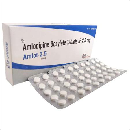 Amlodipine Besylate Tablets IP 2.5mg