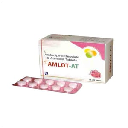 Amlodipine Besylate & Atenolol Tablets