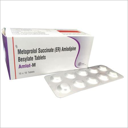 Metoprolol Succinate (ER) Amlodipine Besylate Tablets