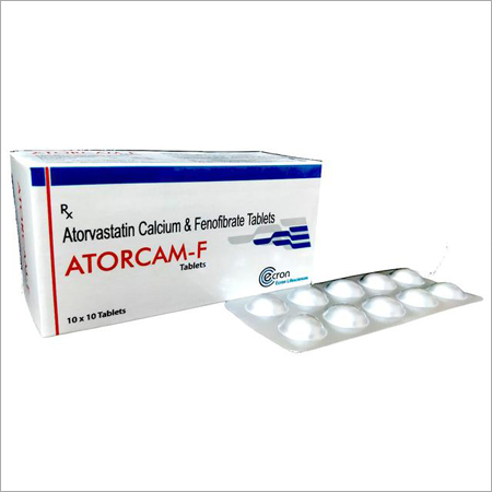 Atorvastatin Calcium & Fenofibrate Tablets