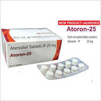 Athenolol Tablets IP 25mg