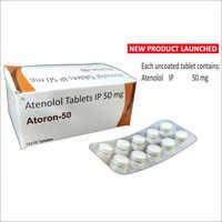 Athenolol Tablets IP 50mg
