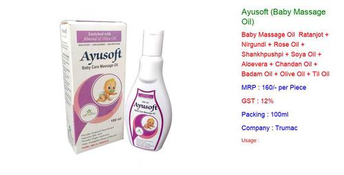 Ayusoft Baby Massage Oil