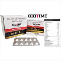 Biotin Amino Acids Vitamin Minerals & Natural Extract Tablets