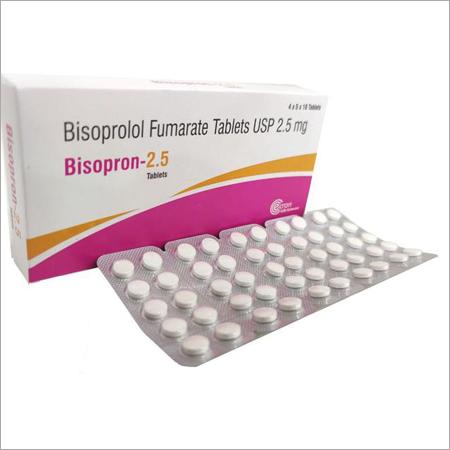 Bisoprolol Fumarate Tablets USP 2.5mg