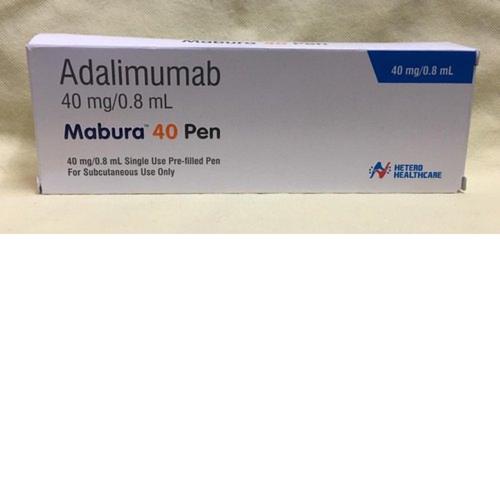 Mabura Adalimumab 40 Mg Injection