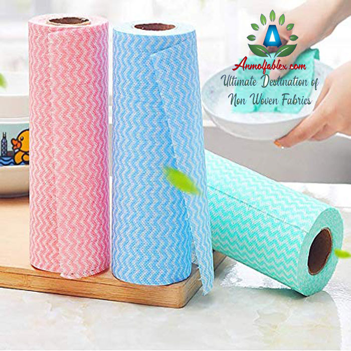 VERY SOFT FABRIC IN NON WOVEN