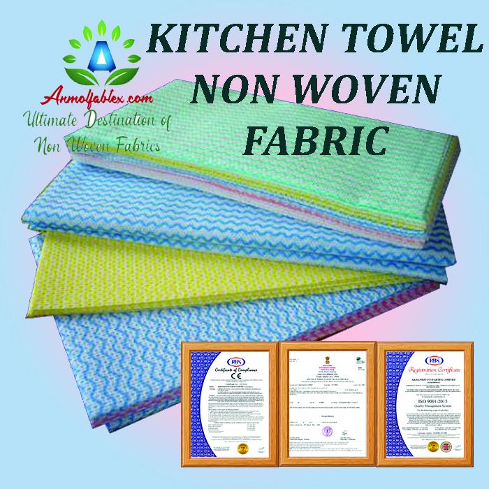 NON WOVEN KITCHEN TOWEL FABRIC