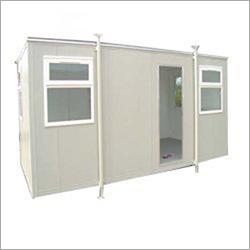 Cement Fiber Board Portable Cabin