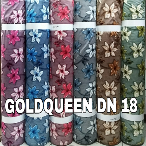 Heavy Floral Printed Curtain Fabric