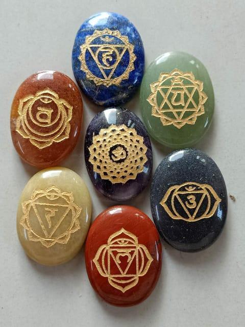 7 Chakra Stones Sets