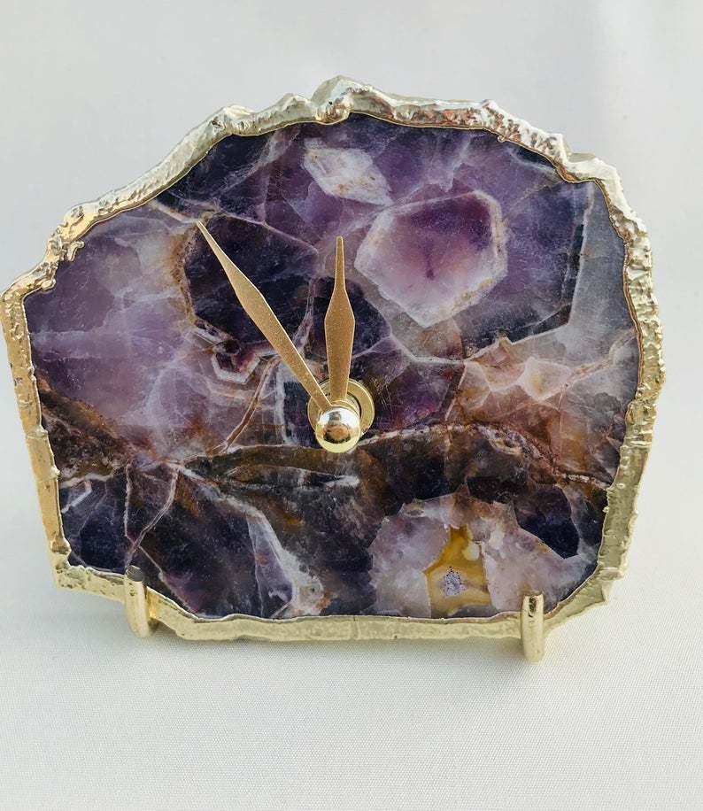 Agate clock