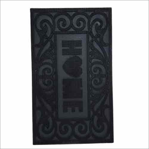 Black Door Rubber Mat