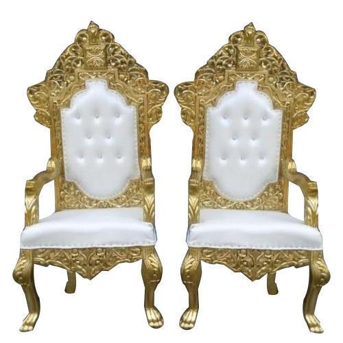matel wedding stage chair