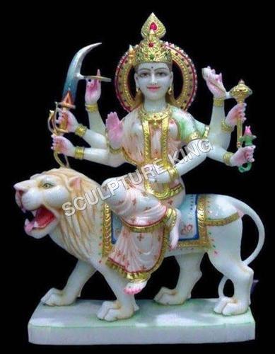 Marble Durga Mata Statues