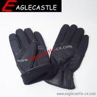OEM/ODM warm men's leather gloves