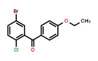 (5-bromo-2-chlorophenyl)(4-ethoxyphenyl)methanone .