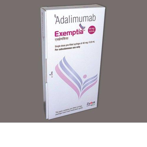 Exemptia Adalimumab Injection , 40 mg / 0.8 ml
