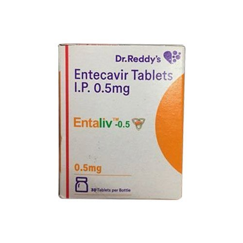 Entaliv Entecavir 0.5mg Tablet , 30 Tablets