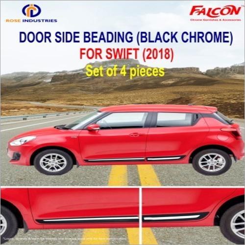 SWIFT BLACK+CHROME SIDE BEADING