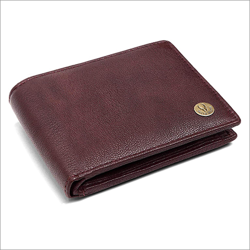 Mens Bombay Brown Leather Wallet