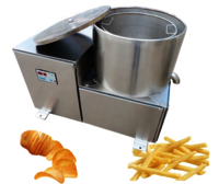 NK-50 Continuous Potato Chips Deoiling Machine Fried Snacks Deoiling Chain Machine For Chips