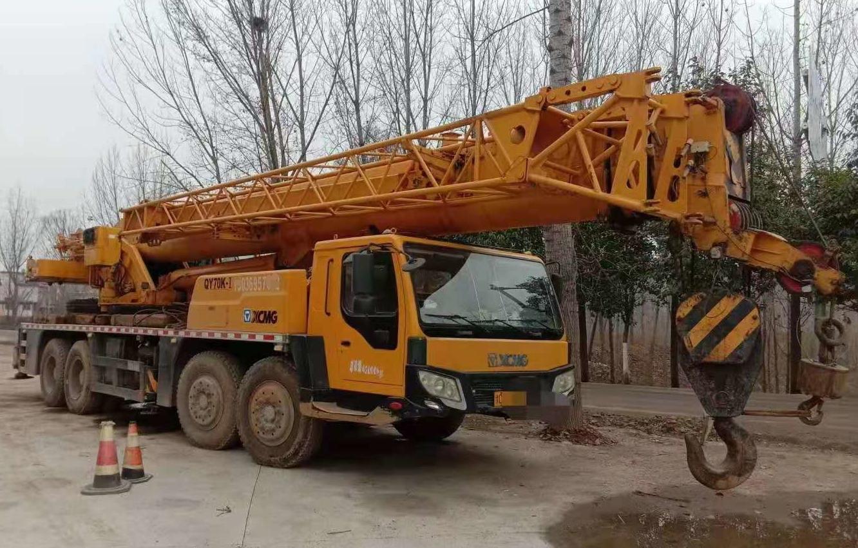 used cranes 70ton xcmg used hydraulic crane second hand crane 70t XCMG 70T mobile crane