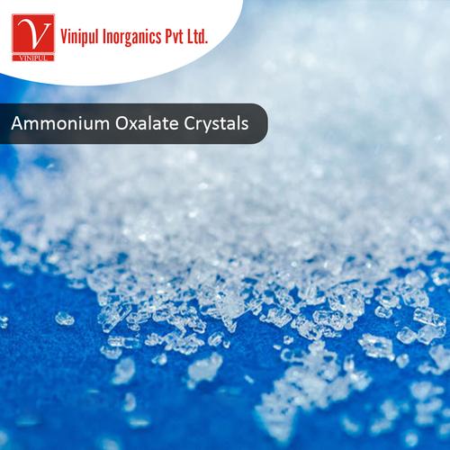 Ammonium Oxalate Crystals