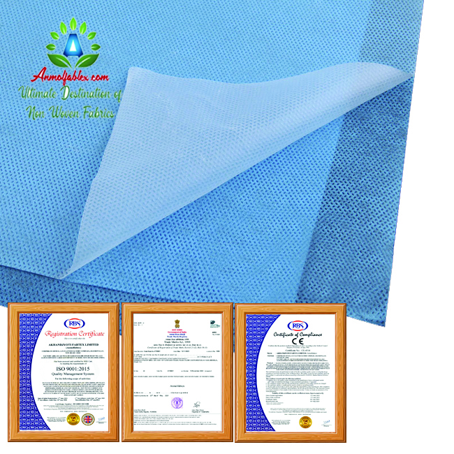 BREATHABLE LAMINATED NON WOVEN FABRIC