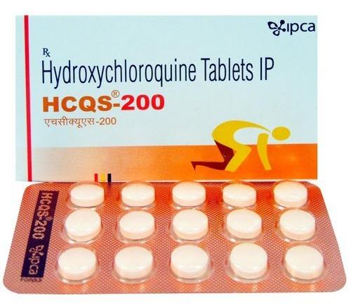 HCQS 200 MG TABLET (HYDROXYCHLOROQUINE)